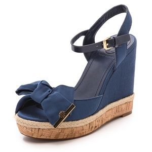 Tory Burch Wedge Sandals - Size 11
